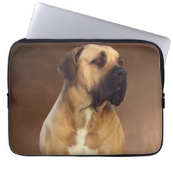 Neoprene Laptop Sleeve 13 inch with Mastiff Phone Cases design