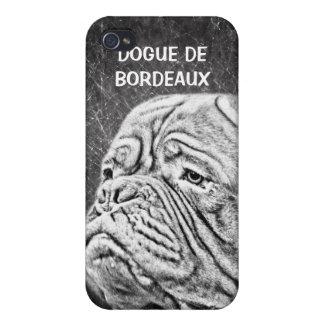 Dogue De Bordeaux - mastín francés iPhone 4/4S Fundas