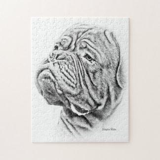 Dogue De Bordeaux - mastín francés Puzzle