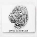 Dogue De Bordeaux - mastín francés Alfombrillas De Ratones