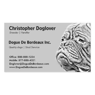 Dogue De Bordeaux - mastín francés Tarjetas De Visita