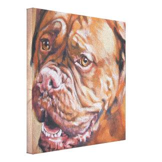 Dogue de bordeaux Painting on Wrapped Canvas