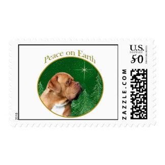 Dogue de Bordeaux Peace Postage