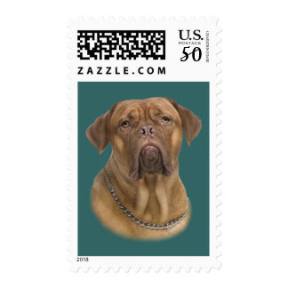 Dogue De Bordeaux Portait Postage