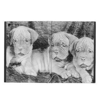 Dogue de Bordeaux puppies iPad Air Cover