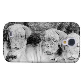 Dogue de Bordeaux puppies Samsung Galaxy S4 Cover