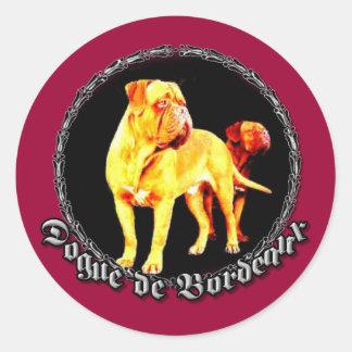 Dogue de Bordeaux sticker