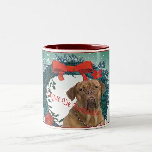 Dogue De BordeauxChristmas Gift Mugs
