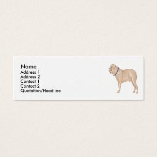 Dogue De Dordeaux  Mini Business Card