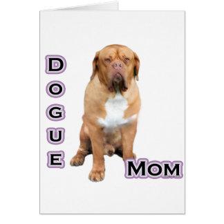 Dogue Mom 4 Card