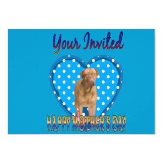 "Doguedebordeau Mothersday Invitation 5"" X 7"" Invitation Card"