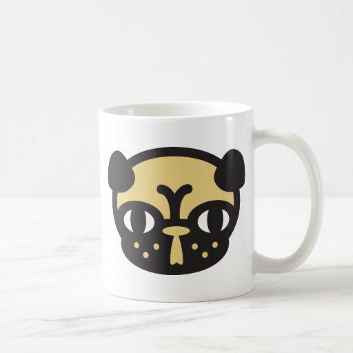 Doguillo pug taza de café