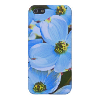 Dogwood azul iPhone 5 funda