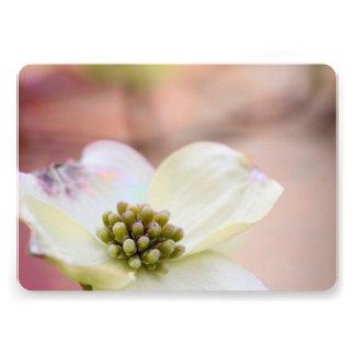 Dogwood Blossom Custom Invitation