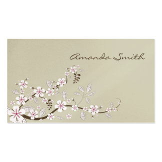 Dogwood Blossoms Business Card