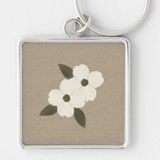 Dogwood Blossoms Keychain