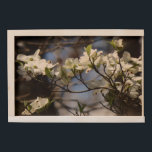 """Dogwood Blossoms large storage box<br><div class=""""desc"""">This is a high quality Birch wood storage box that you can customize with your own photo and text label. Perfect for storing all you thumb drives,  momentos,  keepsakes,  and organizing your dresser or desktop.</div>"""