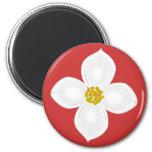 Dogwood Blossoms Refrigerator Magnets