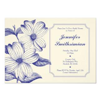 Dogwood Bridal Shower Invitation