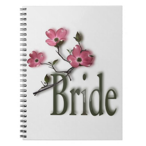 Dogwood Bride Wedding Plans and Notes Notebook