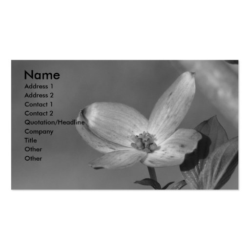 Dogwood Business Card Templates