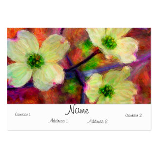Dogwood Chubby Card Large Business Cards (Pack Of 100)