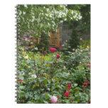 Dogwood de la rosaleda libreta espiral