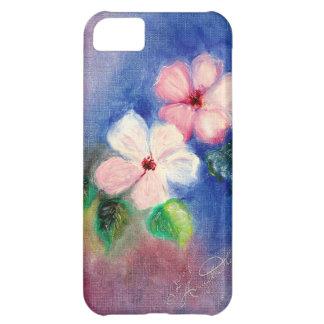 Dogwood exquisito floral funda para iPhone 5C