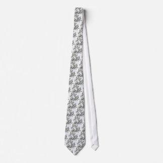 Dogwood floreciente blanco corbata