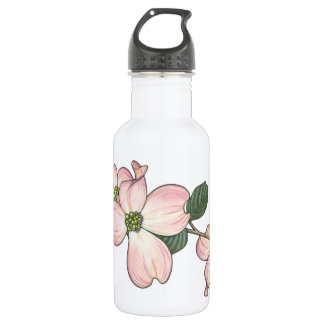 Dogwood Flower 18oz Water Bottle