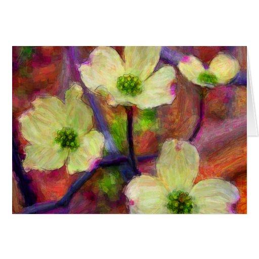 Dogwood Flower Card