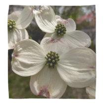 Dogwood flowers on Scarf Bandana