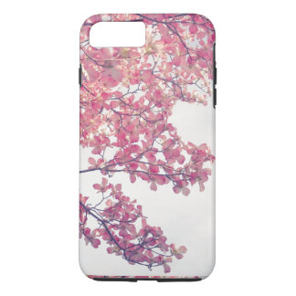 Dogwood Flowers Pink Tinted Nature Art iPhone 7 Plus Case