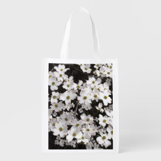 Dogwood Flowers Grocery Bag