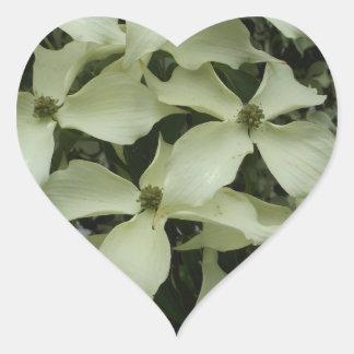 Dogwood Heart Sticker