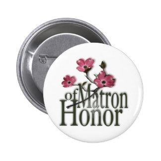 Dogwood/ Matron of Honor Button