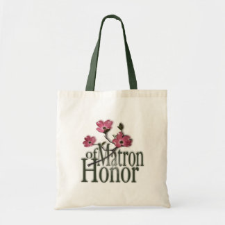 Dogwood/ Matron of Honor Canvas Bags