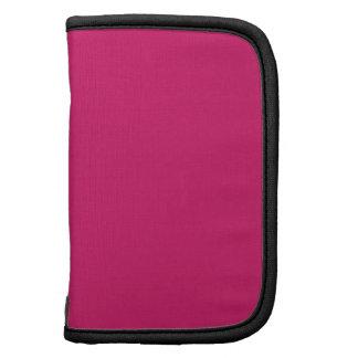Dogwood Rose Black Premium Color Complementing Folio Planner