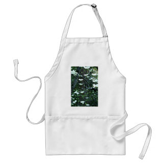 DOGWOOD TREE IN SPRING BLOOM ADULT APRON