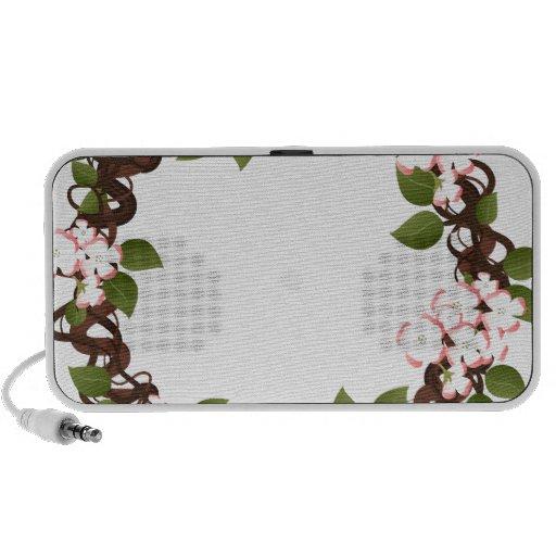 Dogwood Wreath Travelling Speaker