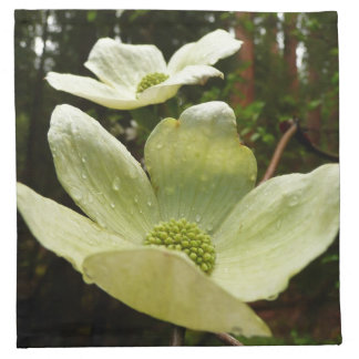 Dogwoods and Redwoods in Yosemite National Park Cloth Napkin