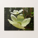 Dogwoods and Redwoods in Yosemite National Park Jigsaw Puzzle