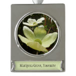 Dogwoods and Redwoods in Yosemite National Park Silver Plated Banner Ornament