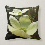 Dogwoods and Redwoods in Yosemite National Park Throw Pillow