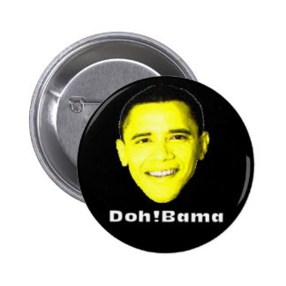 Doh!Bama Pinback Button