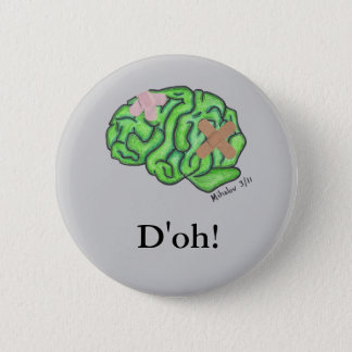 """D'oh!"" button (round)"