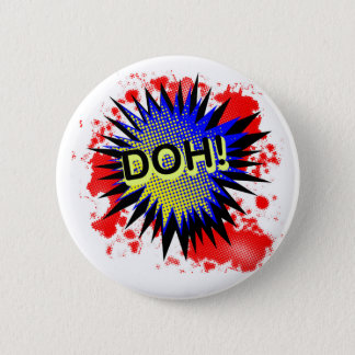 Doh Comic Exclamation Button
