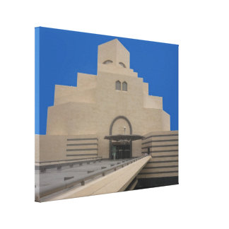 doha museum canvas print