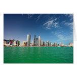 Doha Skyline, 2011 Greeting Card