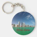 Doha Skyline, 2011 Key Chain
